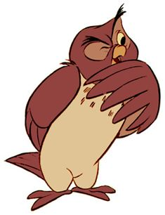 Owl from Winnie the Pooh is a whimsical, yet solid example of the type 5 personality. Disney Pixar, Disney Cartoons, Disney Characters, Owl Winnie The Pooh, Pooh Bear, Christopher Robin, Eeyore, Tigger, Saxon Phonics