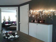 Kerst idee slaapkamer: prachtig als je dit boven je bed hangt!