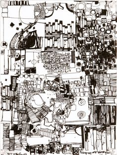by Zak Smith...Abstract Drawing