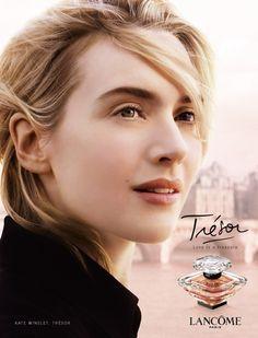 Trésor Lancome - Kate Winslet, such a natural beauty.