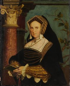 Lady Guildford (Mary Wotton, born 1500), copy after Hans Holbein the Younger. The Metropolitan Museum of Art.
