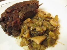 Braised Chuck Roast With Fennel
