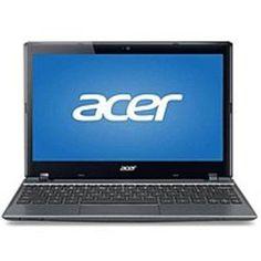 Acer Aspire NU.SH7AA.015 C710-2457 Chromebook PC - Intel Celeron 847 1.1 GHz Dual-Core Processor - 4 GB RAM - 16 GB Hard Drive - 11.6-inch Widescreen Display - Google Chrome OS - Iron Gray