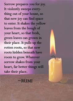 rumi quotes joy | Bridging the Divide: Translating Between Dialects, Cultural Contexts ...