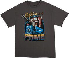 Retro Optimus Prime Shirt