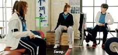 ♡ — kdramagif: the Swag weightlifters