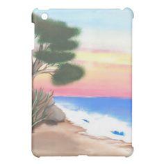 Beach Scene- iPad Mini Case by Black Dragon Art at zazzle.com $39.95