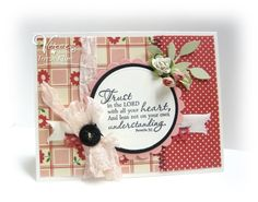 Mojo 198 *~*Trust the Lord*~* by va.sunshine - Cards and Paper Crafts at Splitcoaststampers