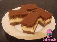 Tejkrémes csokoládészelet Izu, Tiramisu, Ethnic Recipes, Food, Essen, Meals, Tiramisu Cake, Yemek, Eten