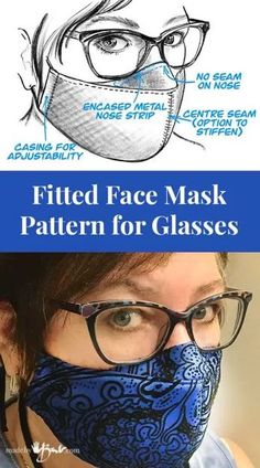 Easy Sewing Projects, Sewing Hacks, Sewing Tutorials, Sewing Diy, Video Tutorials, Free Sewing, Craft Projects, Easy Face Masks, Diy Face Mask