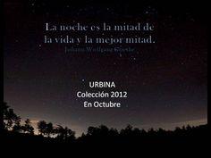 Colección 2012 en Octubre. Vos sos parte de URBINA.