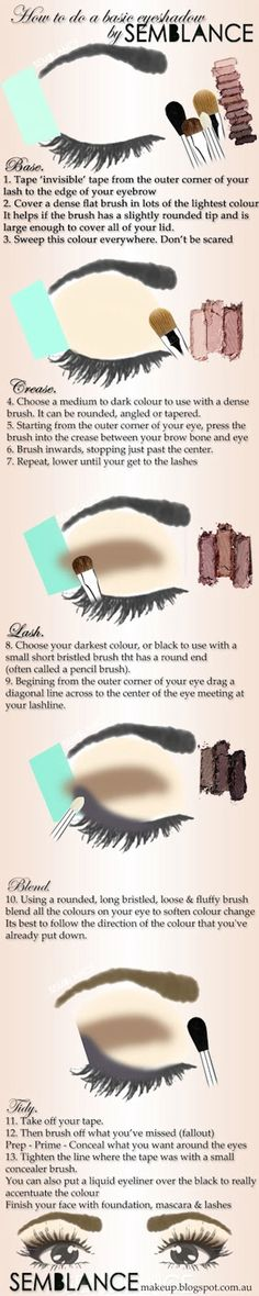 Basic Eye Shadow Tutorial