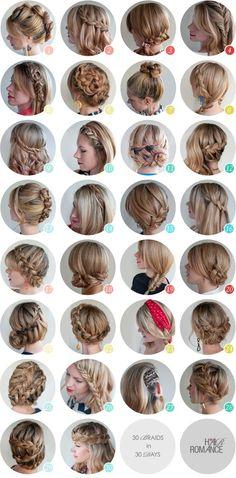 Blogcaentrenos: 30 dias com tranças no cabelo!