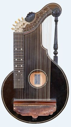 Alpine Zither (Arion Harp Zither) by M. Andorff Markneukirchen Germany c. Piano, Sound Of Music, Kinds Of Music, Mountain Dulcimer, All About Music, Music Aesthetic, Guitar Art, Mandolin, Music Stuff