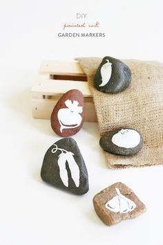 DIY Garden Markers: http://www.stylemepretty.com/living/2015/06/18/14-awesome-diy-gifts-for-dad/