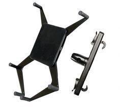 Der Tablet PC Träger für die Kopfstützen kann einfach und schnell durch Befestigungshacken montiert werden.