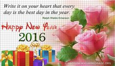 Happy New Year 2016 Quotes Wishes Images | Messages | Wallpapers