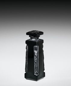 D'Orsay Perfume Bottle with Stopper by Rene #Lalique, designed in 1914   Corning Museum of #Glass