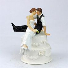 De Look van Liefde Romantische Bruid en Bruidegom Toppers Paar Beeldje Wedding…