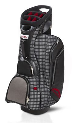 Awesome Plaid Golf Bag Nylon Pu Plaid Womens Golf