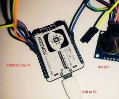 ESP8266 Wiht DS1307 RTC, NV SRAM and Square-Wave Output Signal