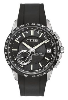 Citizen Citizen Eco-Drive  Satellite Wave - World Time GPS CC3005-00E Satellite