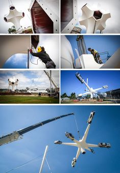 Artist Gerry Judah has designed the 2018 Goodwood Festival Of Speed sculpture that stands high and has six arms that hold an iconic Porsche road or race car. Engineering Firms, Goodwood Festival Of Speed, 70th Birthday, Sculpture Art, Race Cars, Porsche, Racing, Arms, Projects