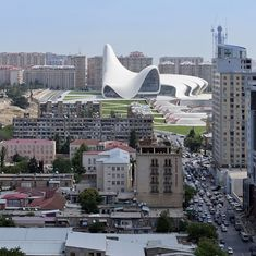 Zaha Hadid The Heydar Aliyev Center in Baku, Azerbaijan