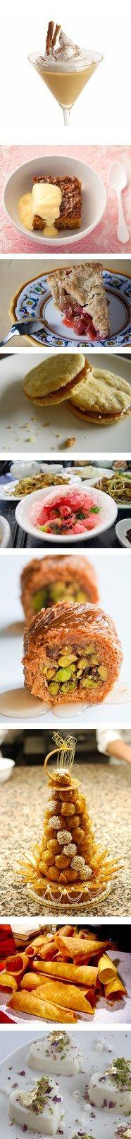 Around the world in 80 desserts