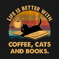 I Love Cats, Cute Cats, Funny Cats, Crazy Cat Lady, Crazy Cats, Cat Posters, Cat Drawing, Book Lovers, Cats And Kittens