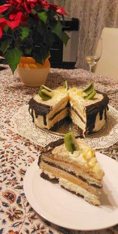 Liszt- és cukormentes kókuszos-vaníliás torta (IR barát) Paleo, Tiramisu, Waffles, Breakfast, Ethnic Recipes, Foods, Morning Coffee, Food Food, Food Items
