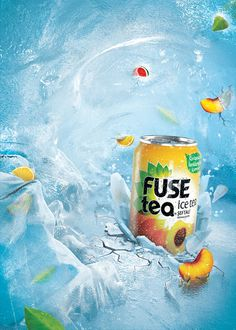 Fuse Tea by Zooistanbul, via Behance