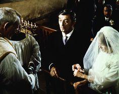 Robert Mitchum and Sarah Miles in Ryan's Daughter (1970)