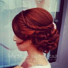 Stunning formal hairstyles by Mehtap Karabacak!