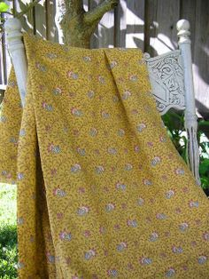 Vintage French Fabric  Provence by SoSylvie on Etsy, $52.00