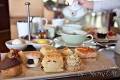 high tea at Ko'ele Lodge Lanai HI