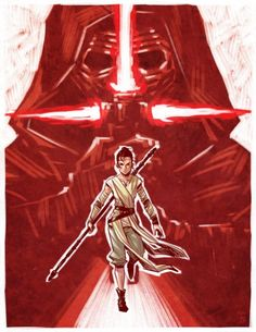 Star Wars: The Force Awakens by Ron Chan