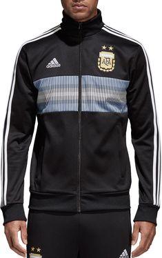 adidas Men s 2018 FIFA World Cup Argentina Black Track Jacket 989d5865a