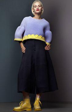 mikapoka: puffy-knitting & glossing