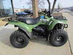 Used 2013 Kawasaki Prairie® 360 4x4 ATVs For Sale in Wisconsin. Compact Four-Wheel-Drive ATV Delivers Maximum Utility and Value. This strong ATV is a standout performer in the mid-sized category and it is equally at-home during both work and play. Whether the day calls for serious chores or a serious amount of fun, this solid ATV is ready to deliver. Its torquey and dependable single-cylinder engine, Kawasaki Automatic Powerdrive System with engine brake control and variable locking front…