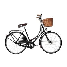Dutch Bike Co. Seattle Bikes - Velorbis Victoria Classic ❤ liked on Polyvore featuring fillers, bicycle, transportation, extra and stuff