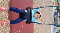 Happiness is playing on a swing!...WATCH THE VIDEO here :)