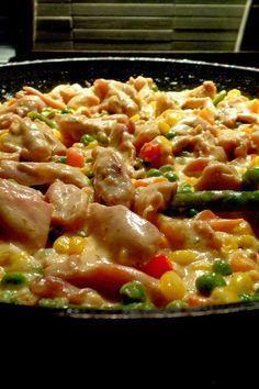 Étel és ital Nail Art d nail artist Chicken Breast Recipes Healthy, Meat Recipes, Chicken Recipes, Cooking Recipes, Bio Food, Healthy Recepies, Hungarian Recipes, No Cook Meals, Casserole Recipes