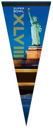 #Super Bowl 48 XLVIII NFL New York Statue of Liberty Premium Quality Pennant $9.99