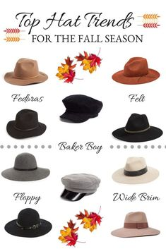Stylish Hats for Fall - LydiaLouise
