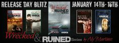 SALE BLITZ: TEASERS AND GIVEAWAY: Wrecked and Ruined Box Set by Aly Martinez ~ https://fairestofall.wordpress.com/2015/01/16/sale-blitz-teasers-and-giveaway-wrecked-and-ruined-box-set-by-aly-martinez/