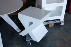 masa rotunda Spider White Oak, Stool, Furniture, Home Decor, Decoration Home, Room Decor, Stools, Home Furniture, Chair