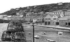 Mousehole, The Old Quay c.1955 #fishing #harbours #Cornwall
