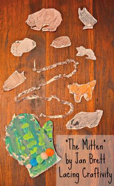 A fine motor lacing activity bringing the book The Mitten alive as part of Story Book Summer on Rainy Day Mum