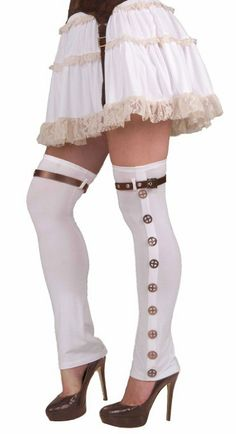 Amazon.com: Steampunk Buckled Spat: Clothing $11.39